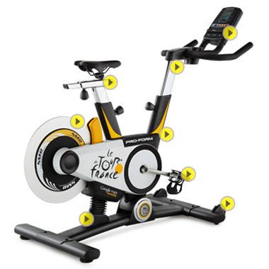 ProForm Tour de France Indoor Cycle 2012
