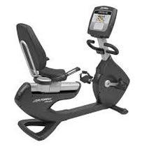 Life Fitness Platinum Club Series Recumbent Lifecycle Exercise Bike