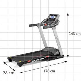 BH Fitness RT AERO Running Training Treadmill