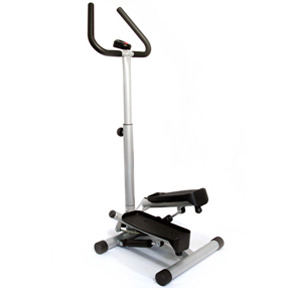 Sunny Health & Fitness Twist Stepper With Handle Bar