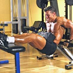 Bench Dip Triceps