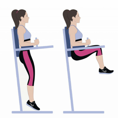 Captains Chair abs exercises