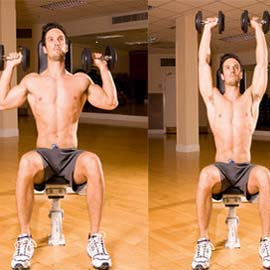 Dumbbell Shoulder Press Exercise