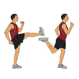 Forward Leg Swings