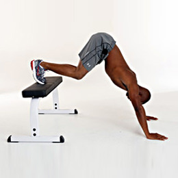 Shoulder Press Push Ups