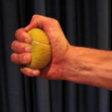 Squeeze a Tennis Ball