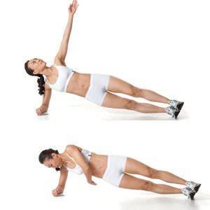 Twist Side Plank