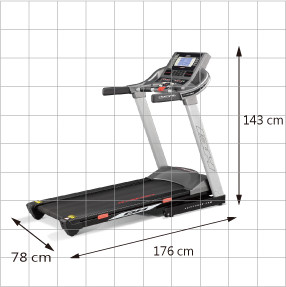 BH Fitness RT AERO Running Training Treadmill