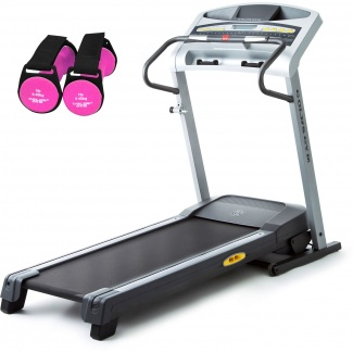 Gold's Gym GG480 Treadmill with Bonus 2 pair- 1lb hand weights