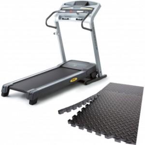 Gold's Gym GG480 Treadmill with Bonus 6-pc Puzzle Mat Bundle