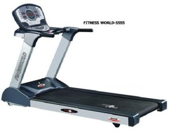Fitness World 5555 Commercial Motorized Treadmill