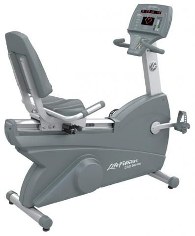 Life Fitness Integrity Series Recumbent Lifecycle Exercise Bike