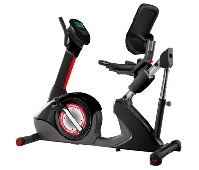 Smooth V390 Semi-Recumbent Exercise Bike