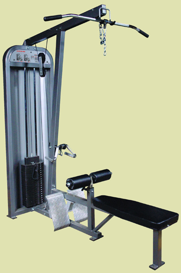 Cosco CSW-2 LAT MACHINE / LOW ROW COMBO