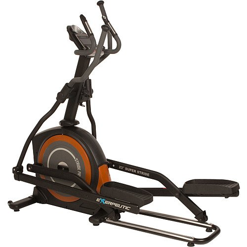 Exerpeutic 650 Heavy Duty Fitness Club Stride Programmable Elliptical