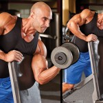 Single- Arm Dumbbell Scott Curl-