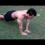 Triangular  Pushup