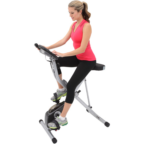 Exerpeutic Folding Magnetic Upright Bike