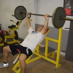 . Inclined Bench Press
