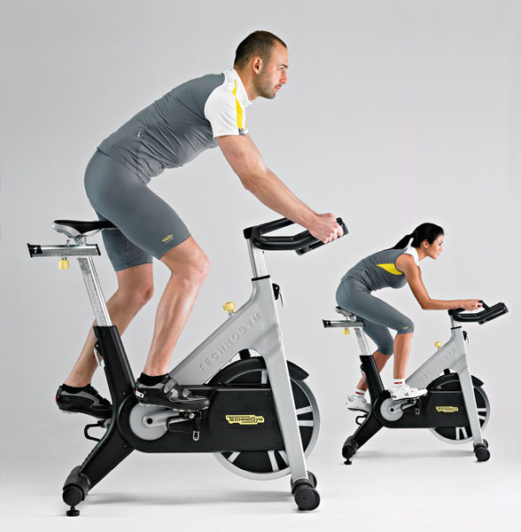 Technogym Group Cycle Belt Drive + Wireless Exercise Bike