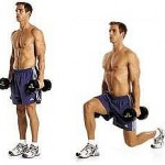 Dumbbell Stationary Lunge
