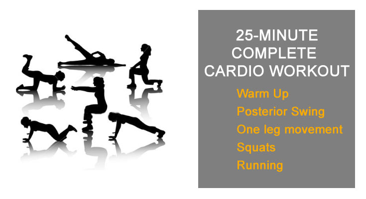 25 Minute Complete Cardio Workout