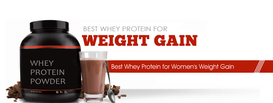 Whey Protein for Women's Weight Gain